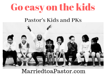 PKs and pastors kids