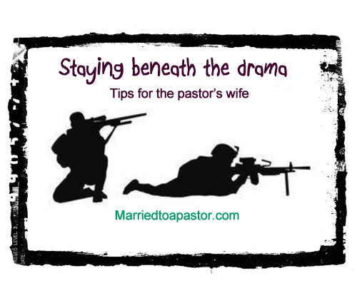 Flying under the bullets of being a senior pastor's wife