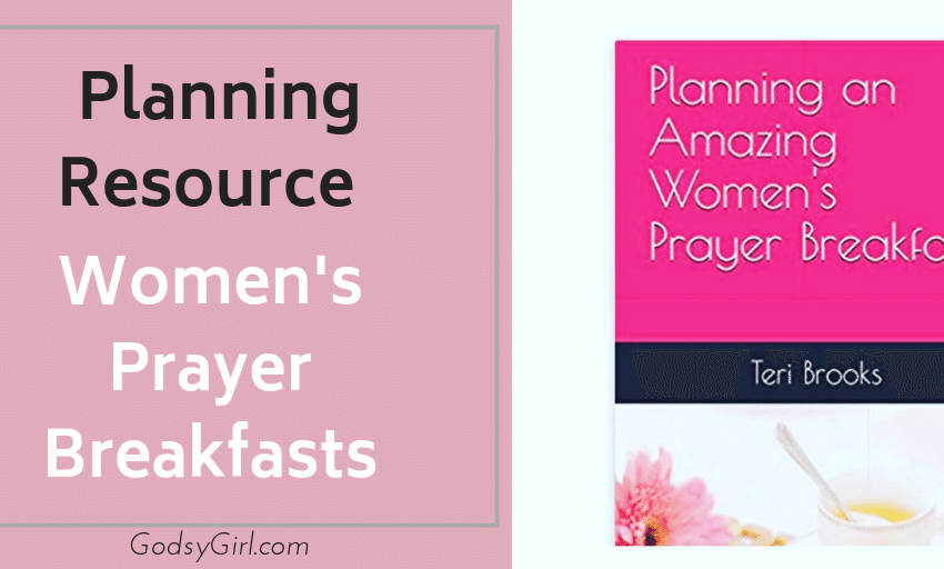 How to plan a womens prayer breakfast