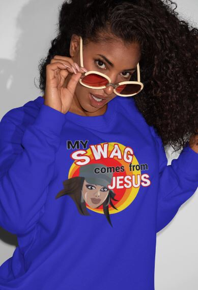 My swag comes from Jesus shirt