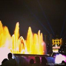 magic fountain light show at fair grounds