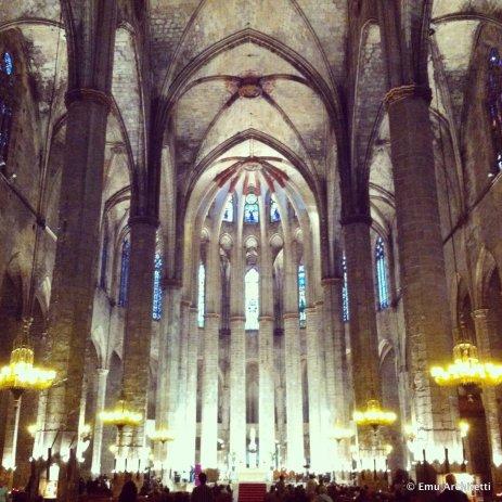 Basilica of Santa Maria del Mar, Barcelona