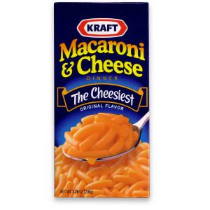 The ORIGINAL Kraft Mac n Cheese box