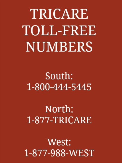 Tricare North Phone Number Images  Frompo