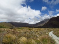 I was a wee bit weary when I first returned to Tongariro NP, but those clouds just went bye-bye real quick.