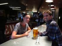 Brian and Rachel at the Fork & Brewery