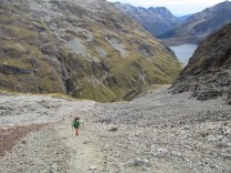 Waiau Pass, highest point on the trail.