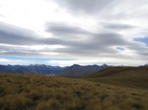 Looking west towards Mt Cook