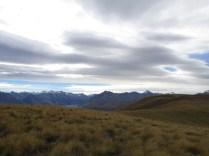 Looking west towards Mt Cook