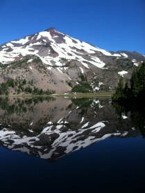 South Sister X 2! Green Lakes.