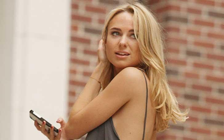 The swimwear model Kimberley Garner is single. Metaphorically Dating her Career