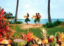 Aulii Luau - Kauai Oceanfront Marriott Hawaii