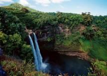 Wailua Falls - Famous Kauai Waterfall Marriott Hawaii