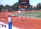 Active in track and field since his youth, OLS professor David Cherrington competed regularly in the hurdle, high and long jump events in the Utah Summer Games.