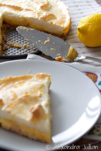 Tarte au citron meringué aux petits beurre
