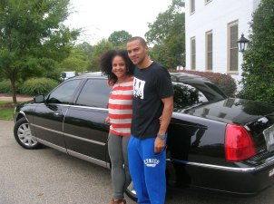 Jessie Williams with His Lovely Wife