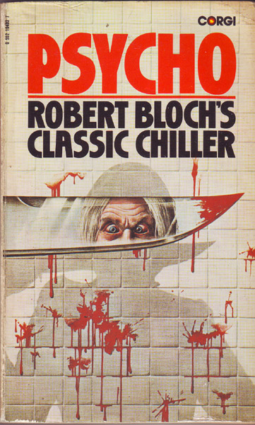 PSYCHO By Robert Bloch  A Frightening Read Perfect for