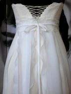 Brautkleid aus Chiffon und Spitze