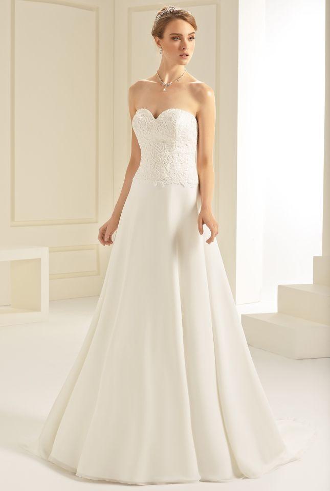 Gemütlich Erröten Lazaro Hochzeitskleid Bilder - Brautkleider Ideen ...