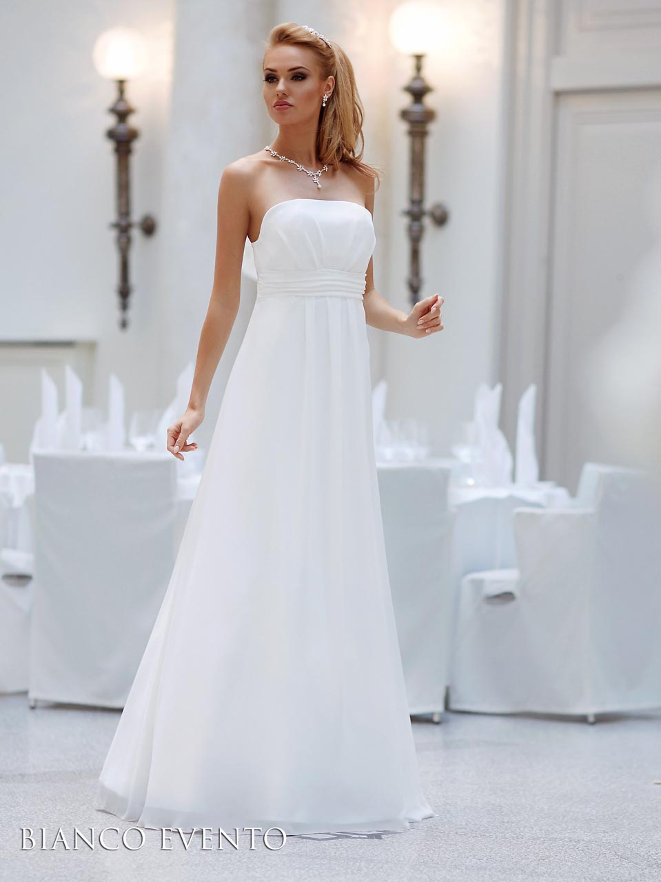Empire Brautkleid Bianco Evento