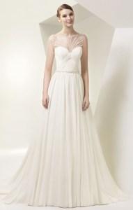 Brautkleid Enzoani aus Chiffon