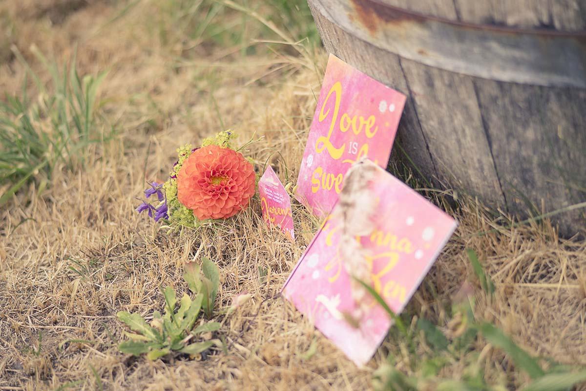 Blumen Juni Hochzeit Glitzerperle Garten Hochzeit