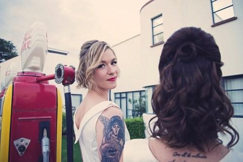 50s Bridal Photoshoot14
