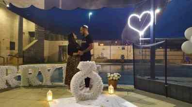הפקות נישואין בבריכה