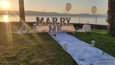 הצעת נישואין בכנרת עין גב בצפון אילון & רינתיה(18.11.20)00026