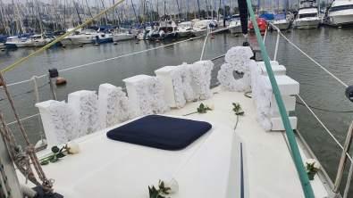הצעת נישואין ביאכטה בסירה בנמל חיפה ים התיכון צפון(11.3.21)00011