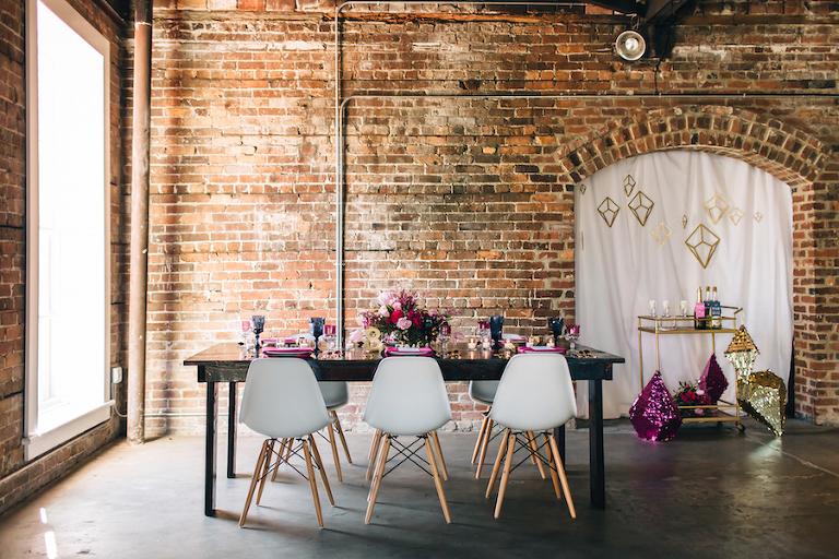 Best Tampa Bay Modern Industrial Brick Wedding Venues CL Space Ybor