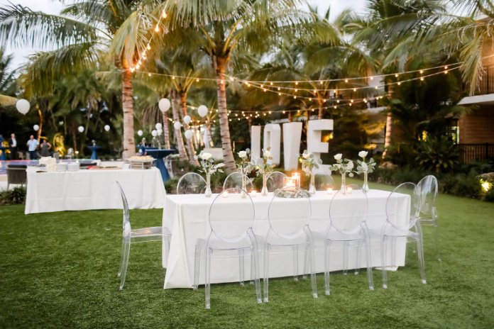 Vintage Modern Anna Maria Island Wedding Bali Hai Beach Resort