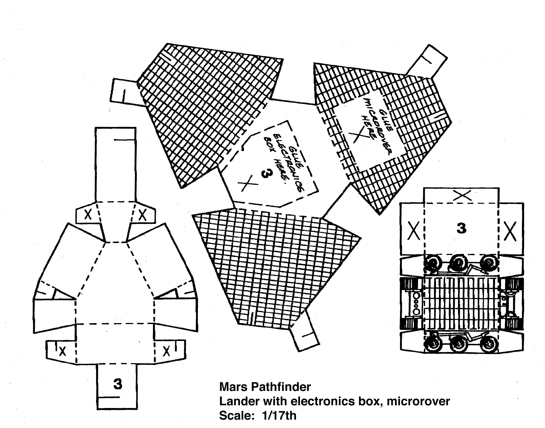 Build Your Own Mars Pathfinder Spacecraft Model