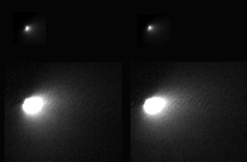 First Resolved Image of a Long-Period Comet's Nucleus