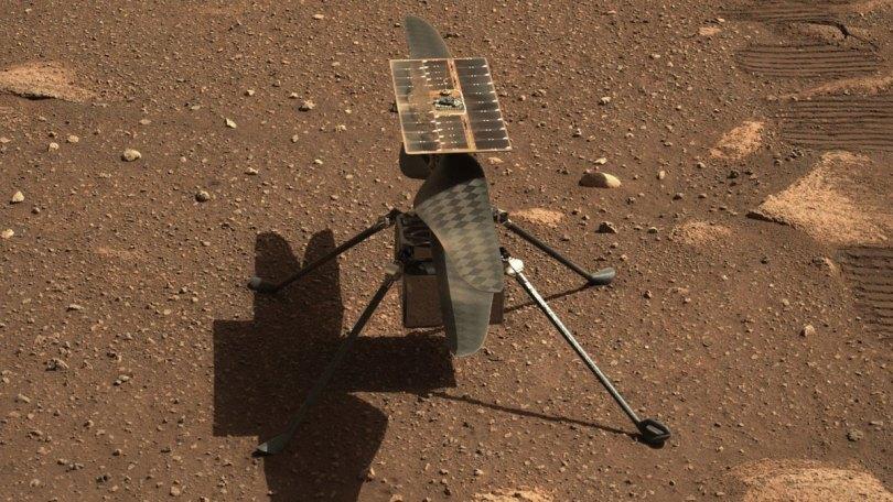 mars helicopter pre flight web - Voo de helicóptero em Marte foi um sucesso (19 de abril 2021)