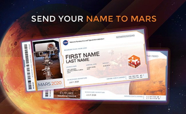 Mars 2020 Perseverance Rover Nasa Mars