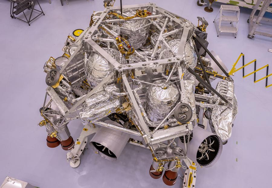 Perseverance Rover Gets in Launch Shape – NASA's Mars Exploration Program