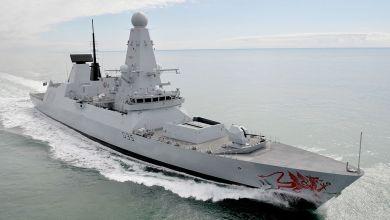 """Photo of المدمرة البريطانية """"HMS Dragon""""  تتوجه نحو السواحل اللبنانية"""