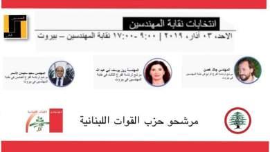 """Photo of فوز جميع مرشحي """"القوات"""" في انتخابات نقابة المهندسين"""