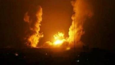 Photo of غارات اسرائيلية عنيفة على ريف حماة