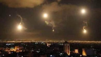 Photo of قصف اسرائيلي على تلال الكسوة…