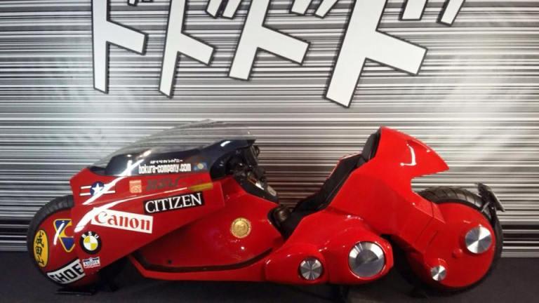 La moto de Akira.