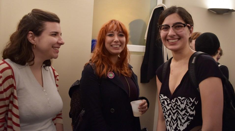 Cynthia Bonacossa, Fabiane Langona ( Chiquinha ) et Aline Lemos