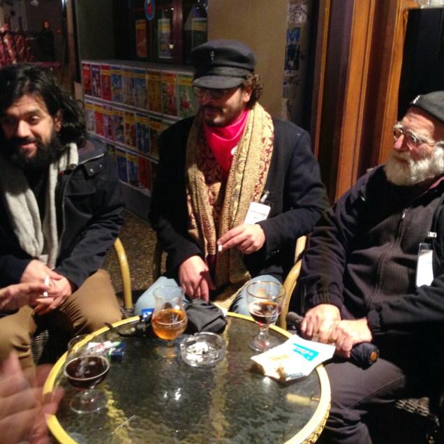 Thomas Gabison, Ahmed Salem & Golo.