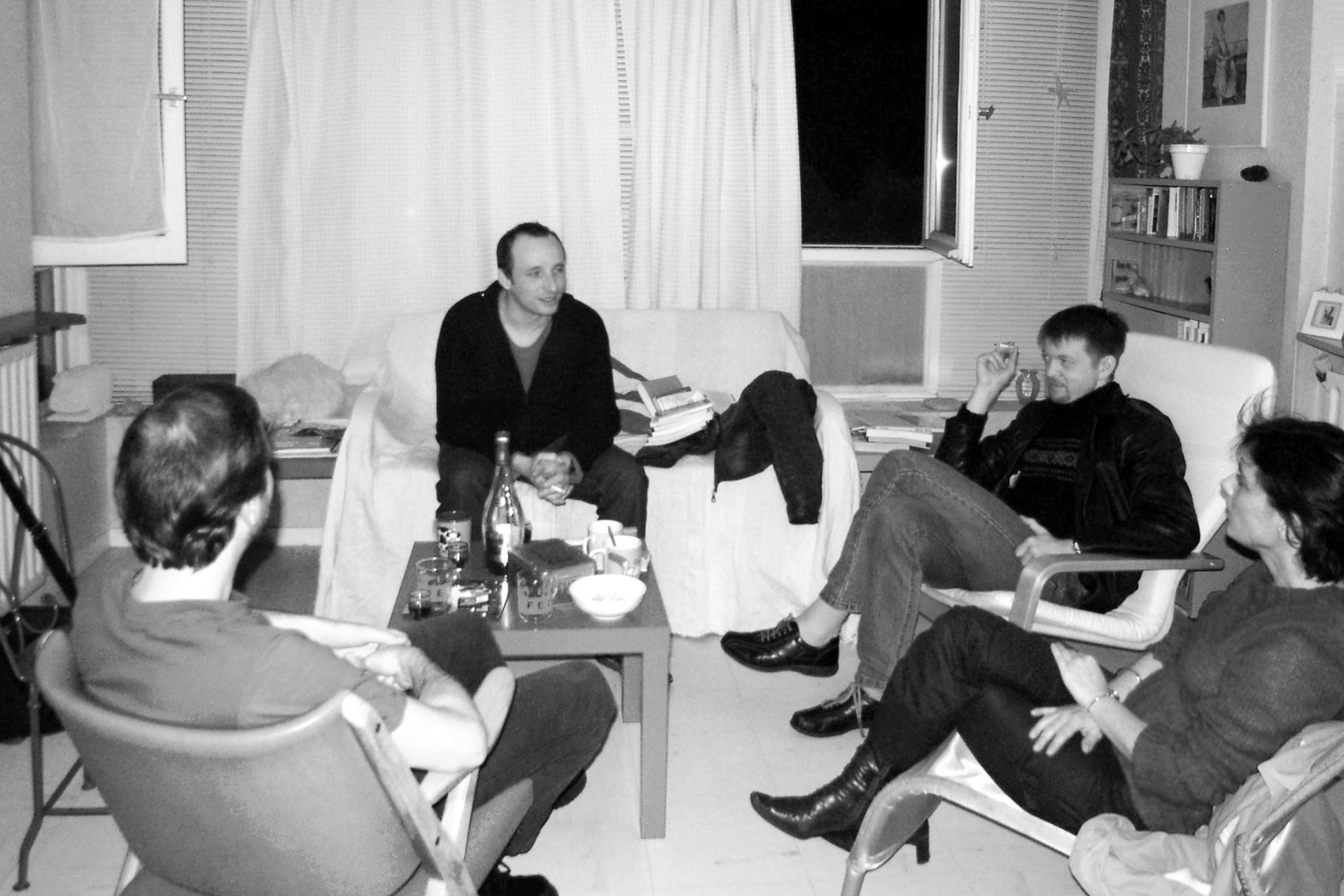 Alain François, Loïc Néhou, Xavier Mussat et Céline Puthier en 2003