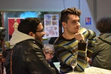 Mohamed Tawfik et Benjamin Frisch