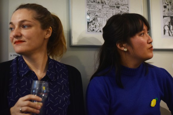 Claire Jarreton et Mai Li Bernard