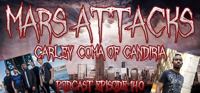Podcast Episode 140 – Carley Coma Of Candiria