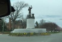 Arthur Ashe, Jr. Monument
