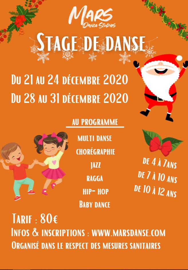 Stage de danse Namur